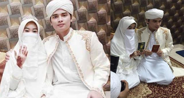 Putra Ustadz Arifin Ilham Resmi Menikahi Gadis Mualaf
