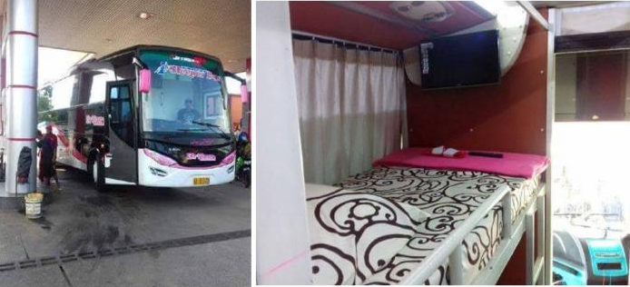 Sleeper Bus pertama Indonesia PO Brilian