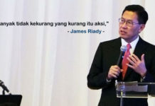 Cara Sukses Bisnis Ditengah Ketatnya Persiangan Ala James Riady