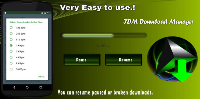 Aplikasi Download Manager