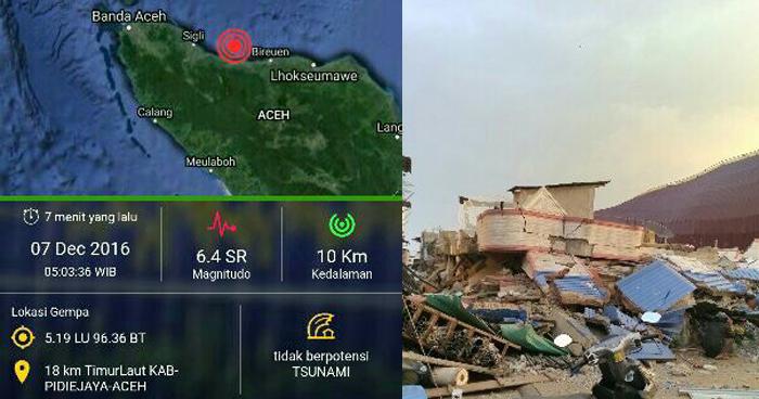 Gempa Bumi Guncang Banda Aceh