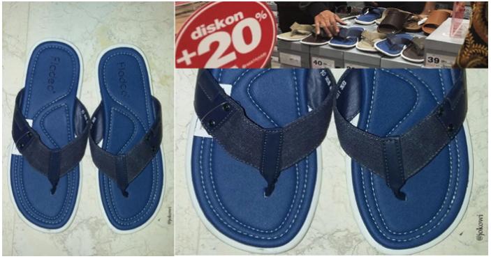 Sandal Biru Jokwoi