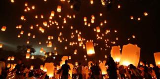 Wisata Lampion Kaliurang