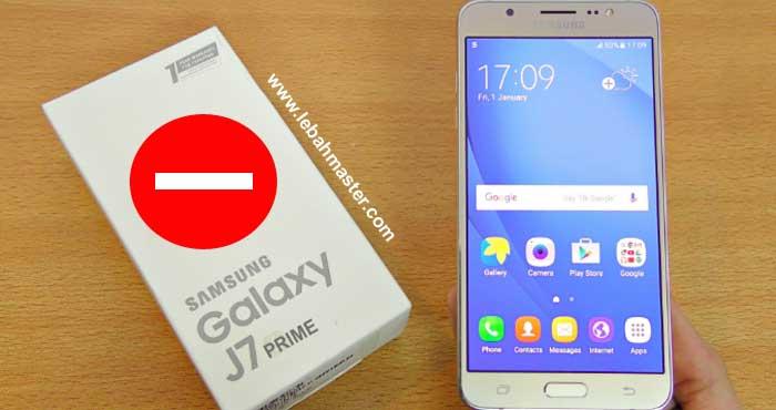 Kekurangan Samsung Galaxy J7 Prime
