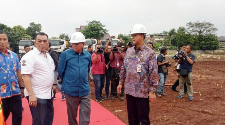 Lokasi Pembangunan Rumah DP 0 Rupiah Klapa Village Jakarta Timur