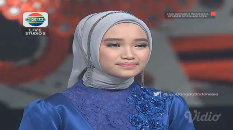 Nabila Liga Dangdut Indonesia Perwakilan Provinsi Aceh