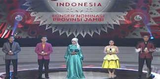 Peserta Liga Dangdut Indonesia Perwakilan Provinsi Jambi