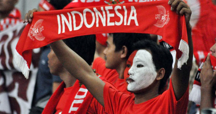 Suporter Timnas Indonesia Asian Games 2018