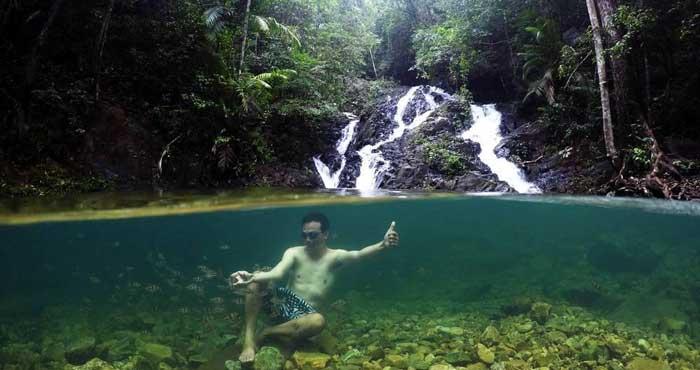 Air Terjun Gorok Beraye Belitung