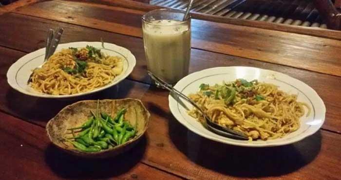 Bakmi jawa Pak Gareng Semarang