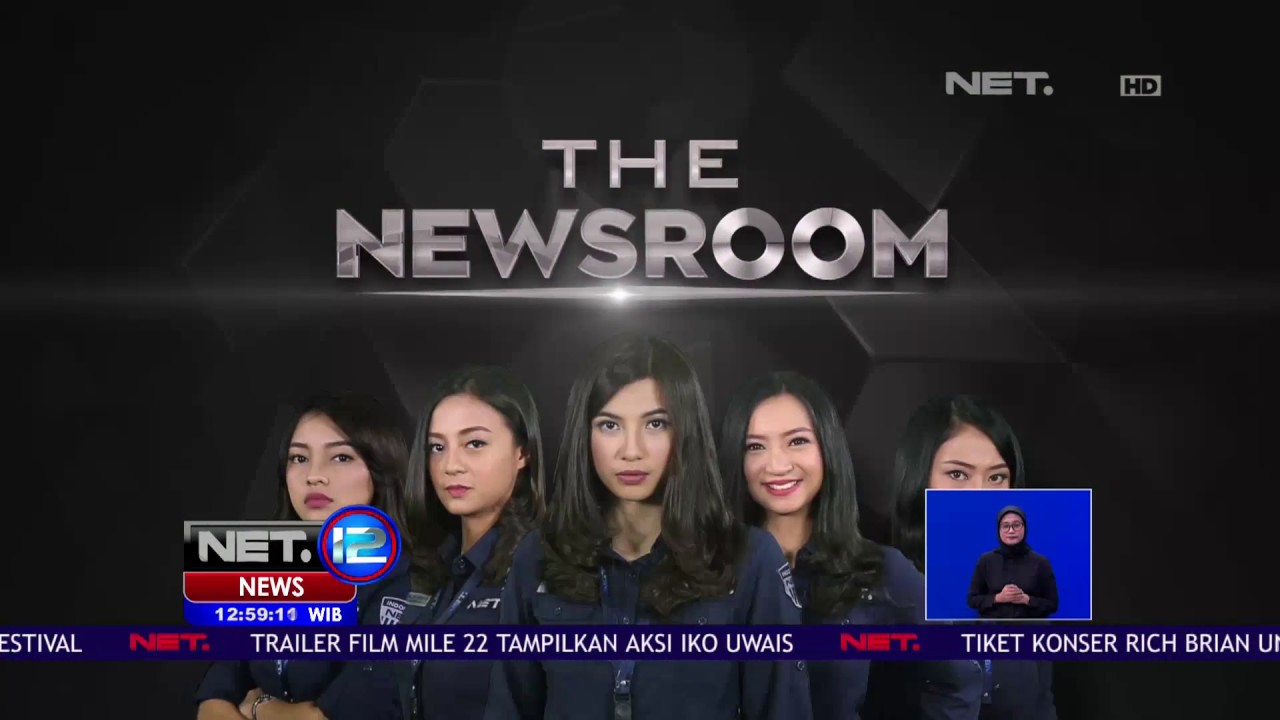 the newsroom net tv