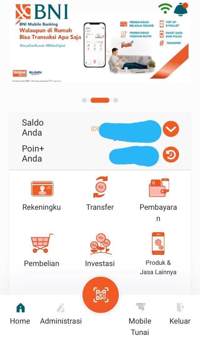 Fitur BNI Mobile
